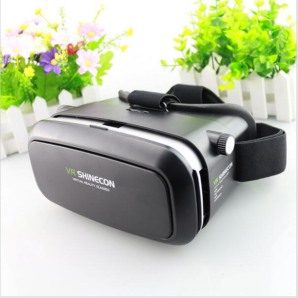 Hot VR Shinecon Bluetooth Virtual Reality 3D Glasses Headset For Iphone Samsung VR Box 4.0-6.0 Inch Phone Google Cardboard 2.0(China (Mainland))