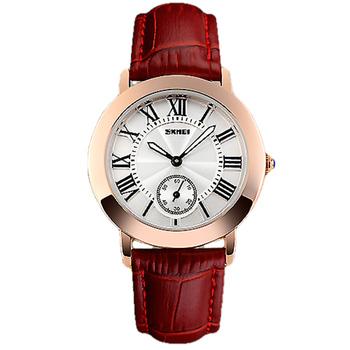 Ladies' Wrist Watch Reloj Mujer Roman Numeral Dial Dress Watch New Designer Women Wristwatch Genuine Leather Quartz Xfcs Relogio