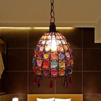 European Retro Bedroom Lamp Chandelier Small Restaurant Bar Entrance Hallway Living Room Chandelier Study<br><br>Aliexpress