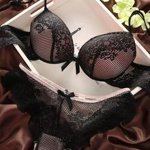Sexy Underwear Women Bra Set Lingerie Set Luxurious Vintage Lace Embroidery Push Up Bra And Panty Set(China (Mainland))