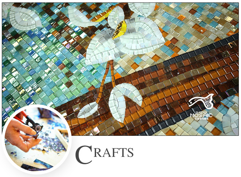 Buy bisazza style jade glass mosaic tiles for Bisazza carrelage