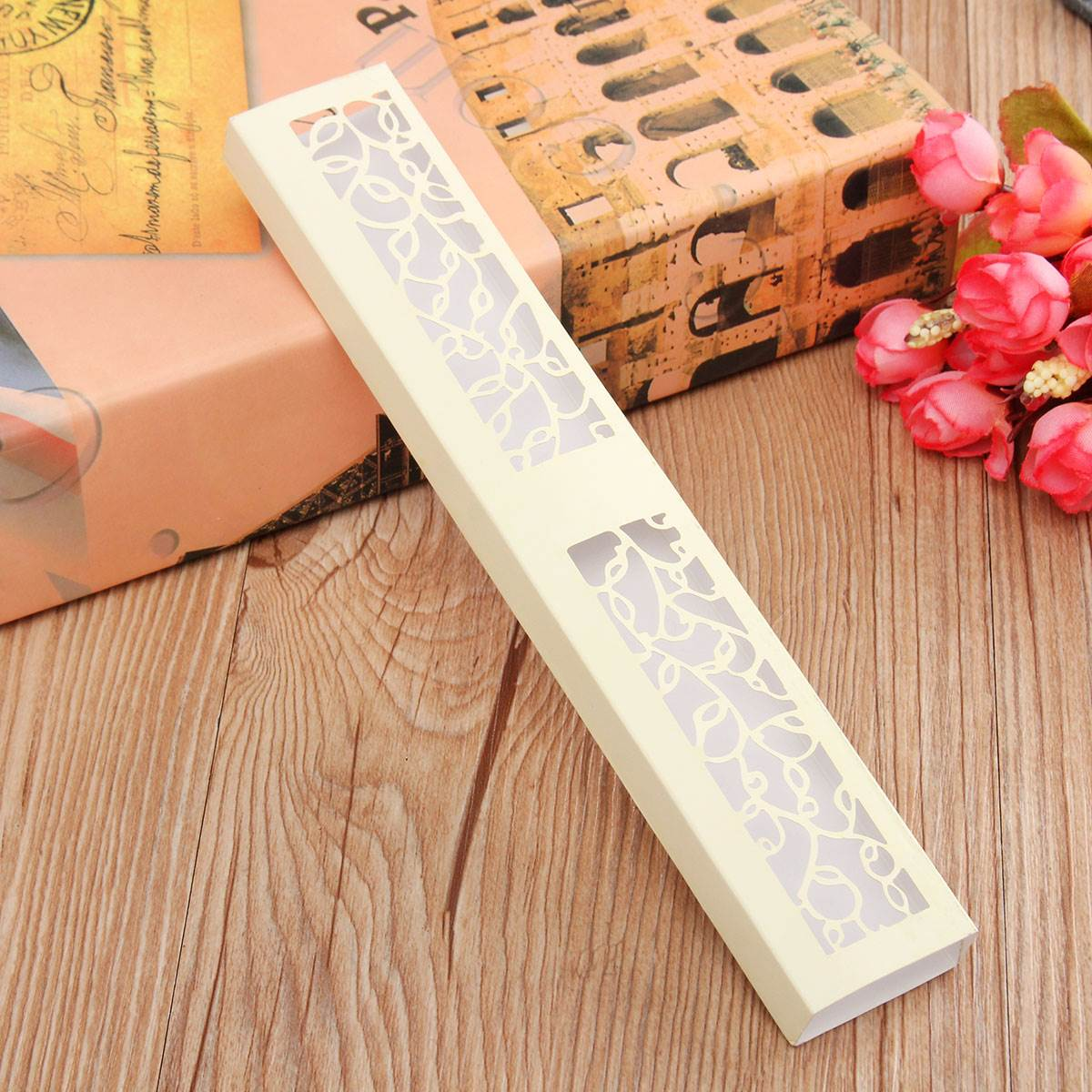 Lovely Engagement Anniversary Wedding Party Cake Favour Favor Gift Boxes Wedding Fans Organizer Storage(China (Mainland))