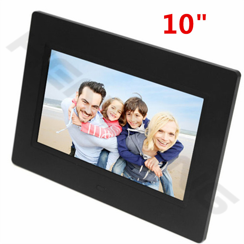 New Fashion 10 inch Mini Digital Photo Frame SD card Photo Music video Clock & Calendar Best Gift(China (Mainland))