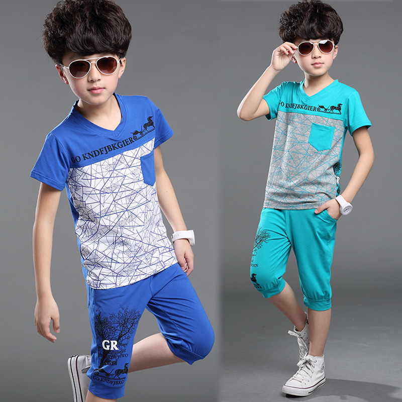 Children 39 S Clothing Sets Large Kids Polo Boys Cool Clothes