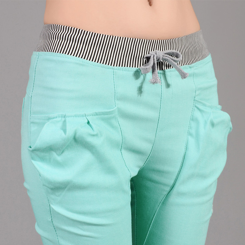 Popular Level Cotton Casual Pants Summer Women Pants Plus Size Trousers Women