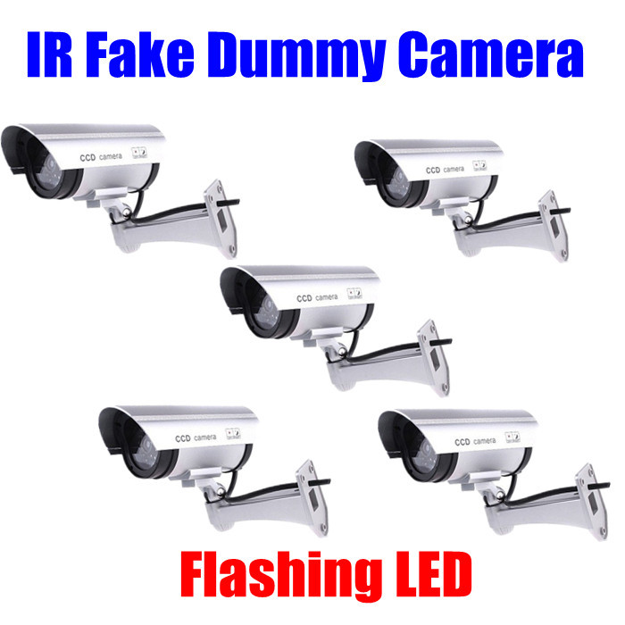 5PC/LOT Wireless Waterproof IR Flash Blinking LED Surveillance Fake Dummy Camera wireless cam Outdoor dropshipping wholesale<br><br>Aliexpress