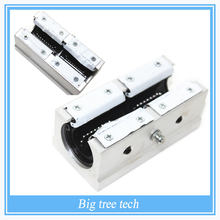Free shipping SBR20LUU 20mm Linear Ball Bearing Block CNC Router for 3D printer part