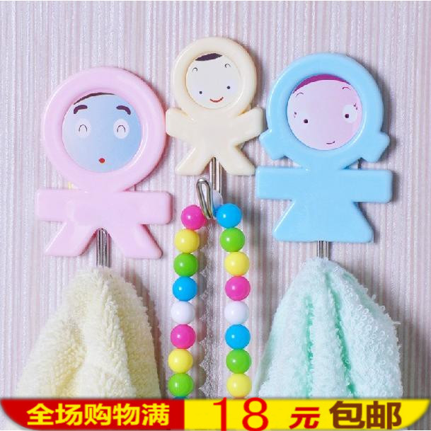 Home date department store three home hook / sticky hook (three entry) 38g(China (Mainland))