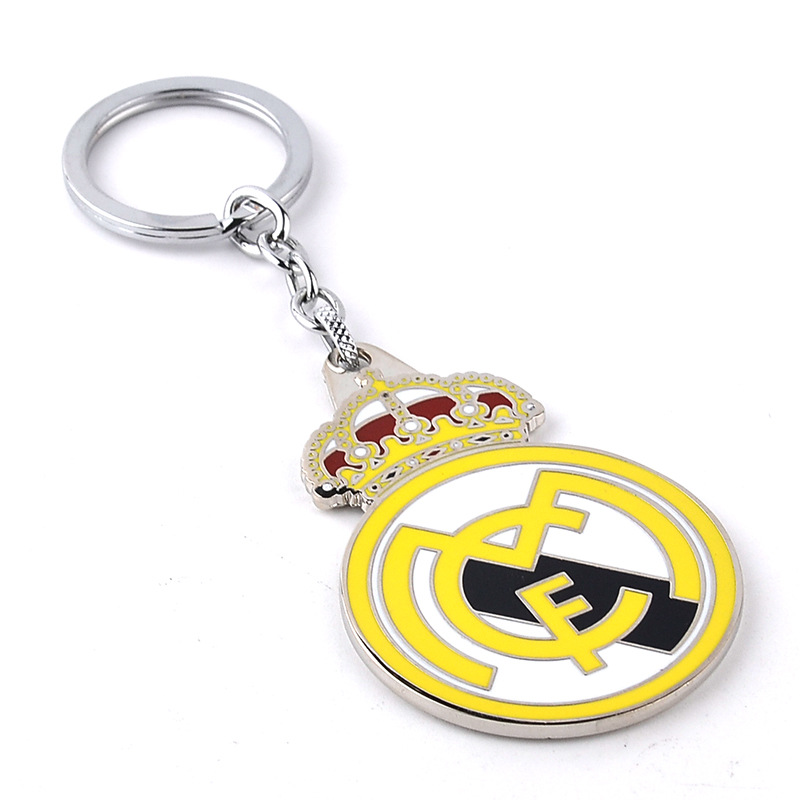 2016 New Style Real Madrid KeyChain High quality keychains Real Madrid football team souvenir ow price key chain free shipping(China (Mainland))