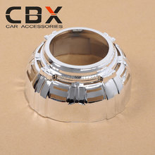 3 Inches HID Projector Lens Shroud High Temp Resistant for Car Headlight Model With PC Ring