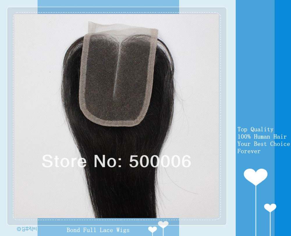 Top Quality Peruvian Natural Color Straight Lace Closure, 4 x 4 , Hot Selling, 100% Human Hair, Fast Delivery!<br>
