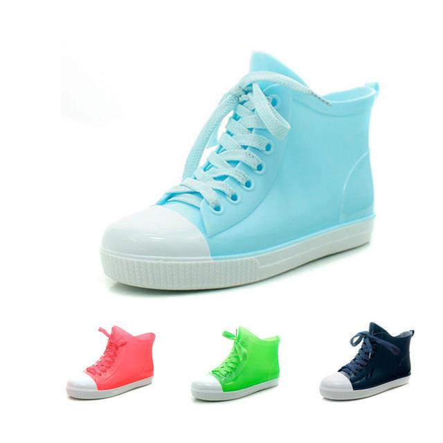 2015 женщин летом ВОИН дождь сапоги скольжению воды обувь желе резиновая кристалл резиновые ботинки дождь обувь