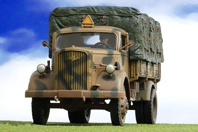Finished product model/German Opel military trucks/Car model
