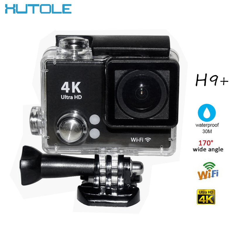 H9+ Mini Action Sport Digital Camera 4K Full HD 1080P WIFI Waterproof Video Support Self Stick Diving Record For Android Phone(China (Mainland))