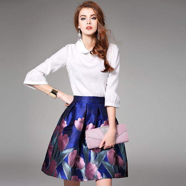 Весна комплект одежды 2016 новых высокое качество одежды Большой размер роскошные ...