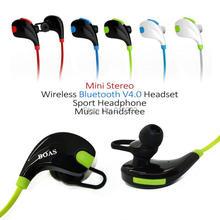 Boas Mini casque sans fil Bluetooth 4.1 casque stéréo Sport musique écouteurs avec mains libres fone de ouvido pour téléphone intelligent PC
