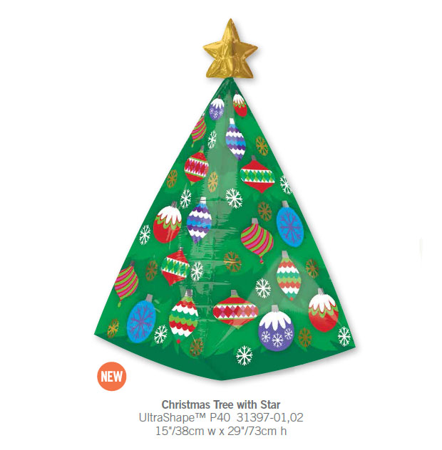 2pcs/lot America Imported Christmas Tree with Star Anagram Foil Balloons Inflatable Party Decoration Toy Balloon Kid's Gift.(China (Mainland))