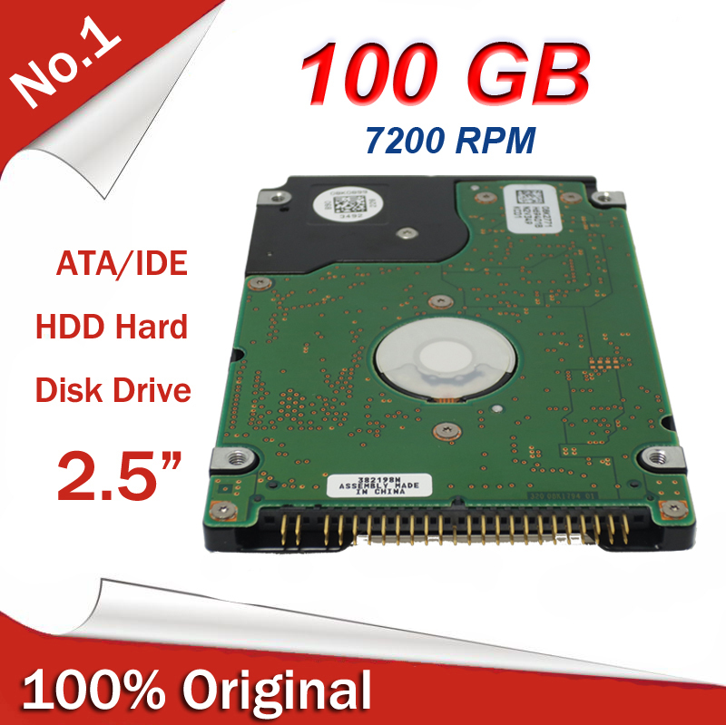 New 2.5 inch Laptop Notebook ATA IDE 100gb Hard Drive HDD 7200 RPM 8MB Cache Factory Sealed(China (Mainland))
