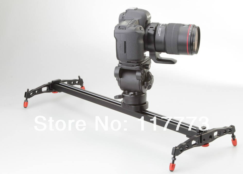 Slider 60cm 24 track dolly skater camera motorized slider Motorized video slider