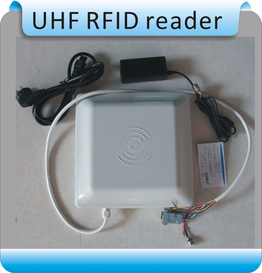 UHF RFID card reader ISO18000-6C/6B RS232/RS485/Wiegand 26 Reader  UHF RFID Reader +20pcs RFID tags
