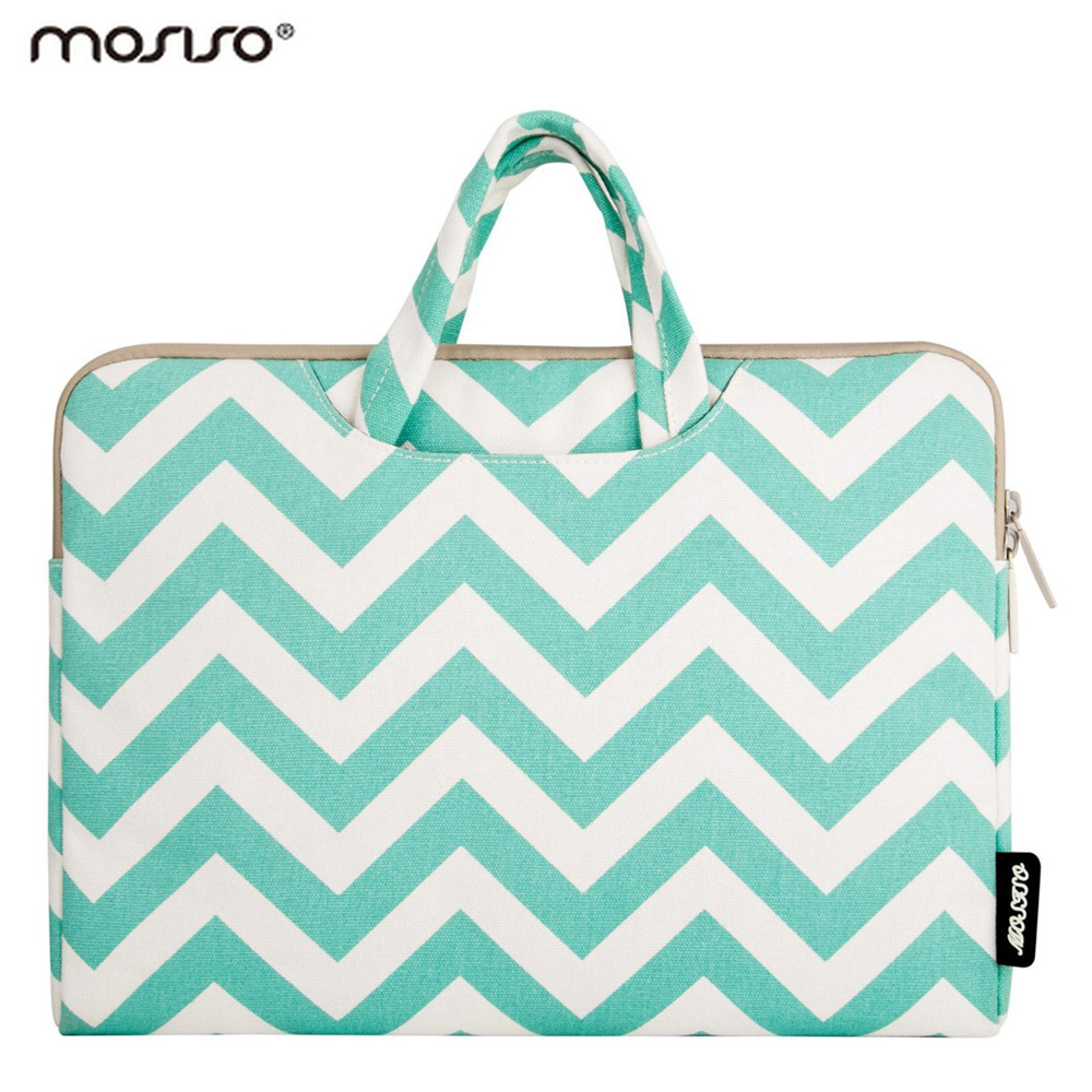 Mosiso Women 11.6 13.3 15.6 inch Laptop Briefcase Sleeve Bag for MacBook Air Pro 11 12 13 15 Acer Asus Notebook Handbag Case(China (Mainland))
