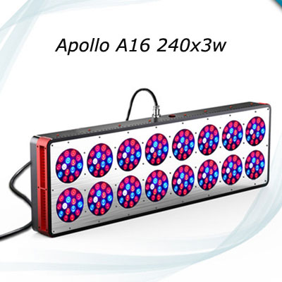 Original led grow light brand Excellent A16 720w hydroponics led grow Apollo led lamp for plants growth 2 years warranty(China (Mainland))