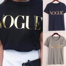Buy ROSASSY Summer New Arrivals Hot Sale puls size XXL Fashion Brand T Shirt Women VOGUE Printed T-shirt Women Tops Tee Shirt for $6.92 in AliExpress store