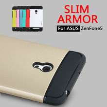 Factory Outlet Cover For ASUS ZenFone5 A501CG Dual Layer Plastic Silicone Case For ASUS ZenFone 5 Armor Hybrid Combo Phone Case