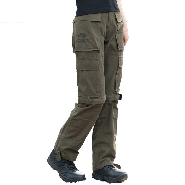 Wonderful Women Cargo Pants Casual Pants Camouflage Pants For Women Army Green