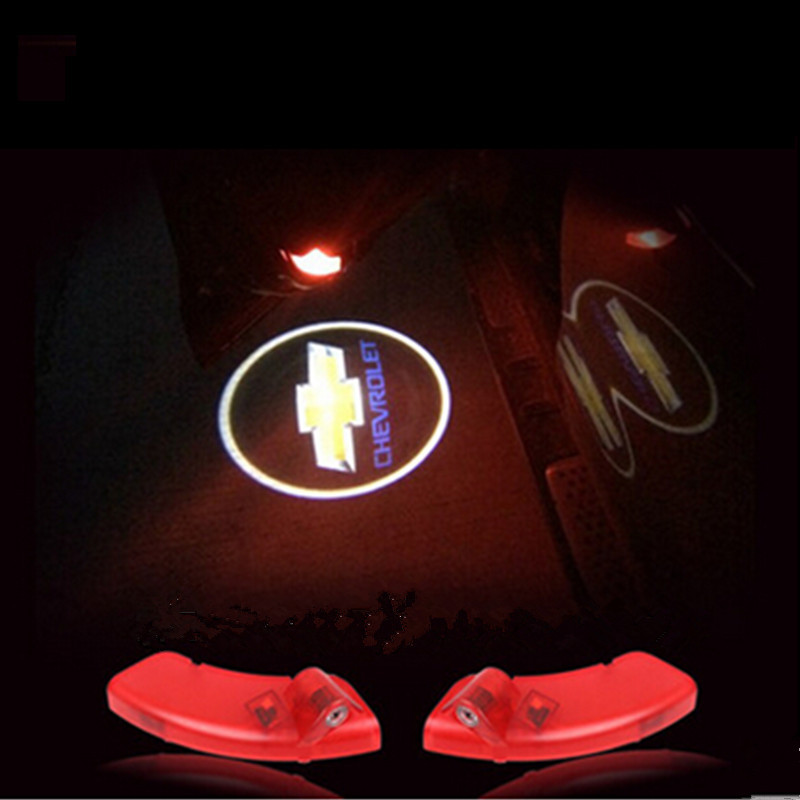 This is not a Drill LED car door Shadow Welcome logo laser Projector ghost light for Chevrolet Captiva(China (Mainland))