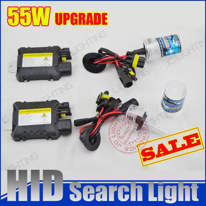 xenon hid conversion kit 55W H1 H3 H7 H8 H10 H11 H9 H11 H13 9005 9006 9007 lamp with silm ballast blocks for car headlight(China (Mainland))