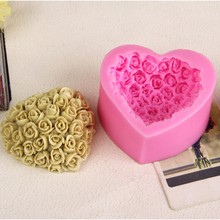 Cute Flower Shape 3D Silicone Mold Cake Decorating Tools kitchen Accessories Cupcake High Quality