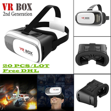 20PCS/LOT 2nd Generation VR BOX IV 3D Glasses for Smartphone – Movies Games