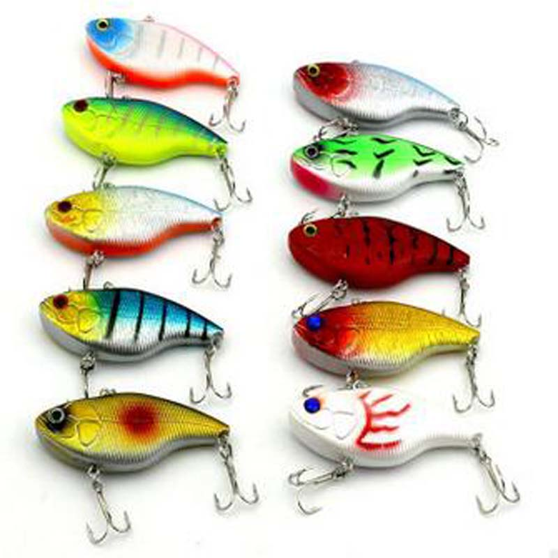 Retail Fishing Tackle A+ Fishing Lures Hard Bait 10 Color for Choose 75mm 18g Minnow, Quality Professional Minnow Fishing 10Pcs(China (Mainland))