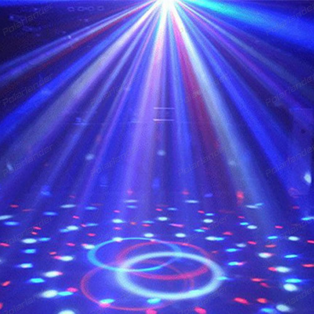 220V RGB LED Bulb Christmas Colorful Lamp Party Effect Light Disco Magic Ball Lighting EU Plug