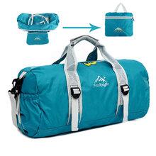 Men's Outdoor 20L Large Capacity Adjustable Shoulder Bag Multifunction Duffel Bag Travel Folding Bag Waterproof Nylon Handbag