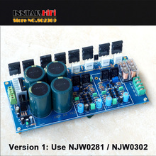 Buy Assembled HIFI Fully Symmetric Dual Differential 300W+300W Power Amplifier Board / NJW0281 NJW0302 Version for $59.99 in AliExpress store