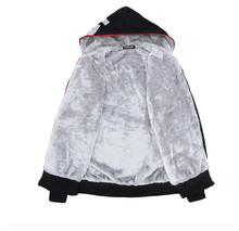 M 6XL Mens Hoodies and Sweatshirts Brand Winter Zipper Thicken Warm Coat Fashion 2015 Casual Big