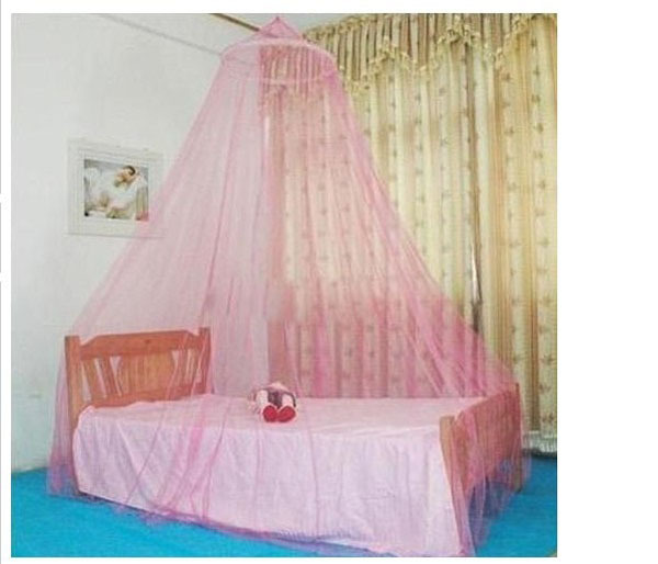 New Free Shipping Round Lace Insect Bed Canopy Netting Curtain Dom Mosquitoe Net(China (Mainland))