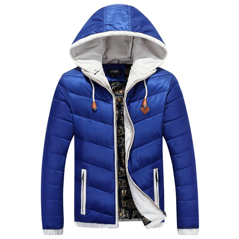 2015 New brand Men's winter warm down parka warm thick hooded Coat men down jacket coats jaqueta masculina