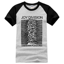 Buy Euro style Joy Division T Shirts Men Unknown Pleasure Post Punk Gothic t shirt Rock Roll Hot Man Tee O Neck 100% cotton Mens for $6.98 in AliExpress store