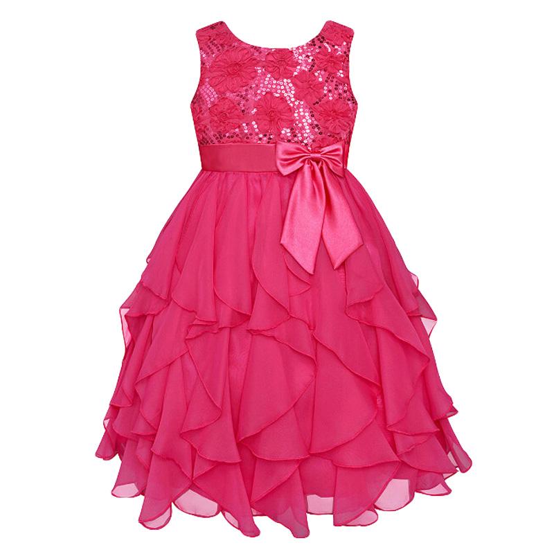 Гаджет  2015 Summer clothes baby gilrs Sequins princess dress girls party dress sleeveless kids clothes free shipping None Детские товары