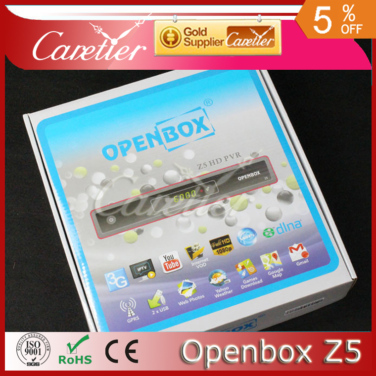 2014 Newest Model Original box Z5 hd pvr internet Satelite TV Receiver Support 3G,youtube IPTV From Factory Supply 1PC(China (Mainland))