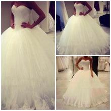 Buy ZGS360 Robe de soiree Ball Gown Wedding Dresses 2017 Custom Elegant White/Ivory Sweetheart Bride Gowns Vestido De Novia for $225.88 in AliExpress store