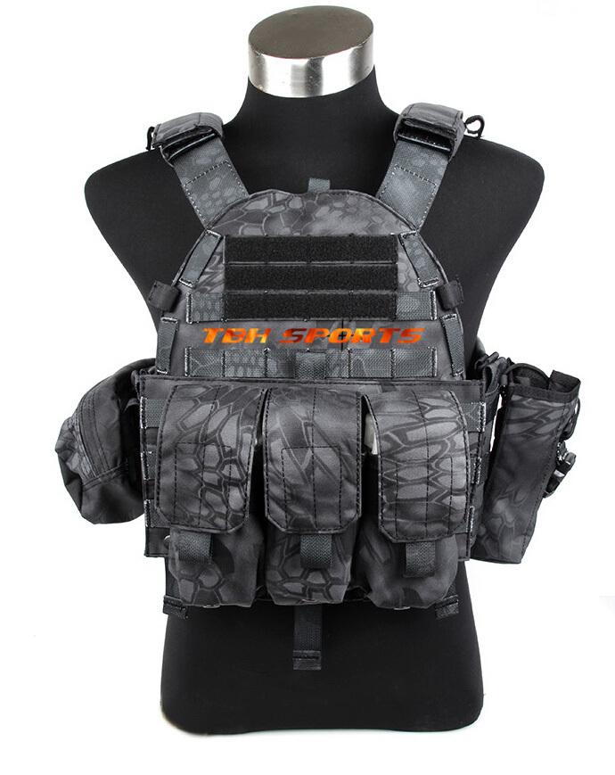 TMC 6094A Night Camouflage Prowls Tactical Vest Set MOLLE Vest In Kryptek Typhon+Free shipping(SKU12050378)<br><br>Aliexpress