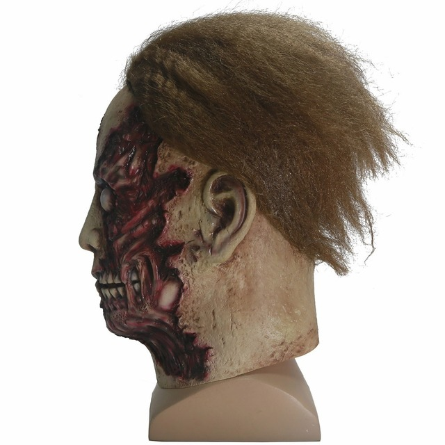 Michael Myers Mask Halloween Movie Cosplay Scary Full Head Latex Mask