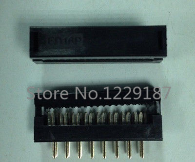 10 pcs 2.54mm 2x8 Pin FD 16 Pin Male Header IDC Cable Transition Connector<br><br>Aliexpress