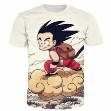 Buy Dragon Ball DBZ Bulma Super Saiyan Vegeta T-shirt 3D Men Women Anime Kid Goku Goten Gohan T shirt Harajuku Lonzo Ball Tee Shirts for $10.38 in AliExpress store