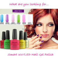 2015 New Brand Smart Gel Soak Off Nail Gel 79 Fashion Colors Available For Salon Gel Polish