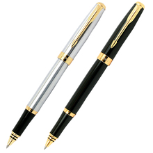 Buy 1 Pcs/pack, Baoer 388 High Cheap Price Silver Golden Smooth Arrow Clip M Nib Ink/brand/fountain Pen Free for $2.64 in AliExpress store